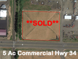 5 Acres Albany Oregon Land Commercial Development Land for sale