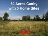 50 Acres Canby Oregon Land for Sale