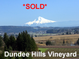 Dundee Hills Oregon Vineyard for sale
