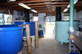 Inside Hatchery Room