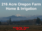 216 Acre Irrigated Willamette Valley Farm