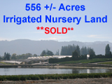 556 Acre Oregon Nursery Land for sale