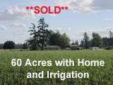 60 Acre Irrigated Willamette Valley Farm for sale