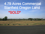Stanfield Oregon Land for Sale