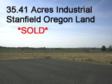 Stanfield Oregon Industrial Land Sale