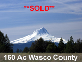 Wasco County Oregon Land for sale
