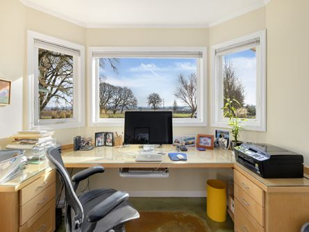 Office with Windows and Views