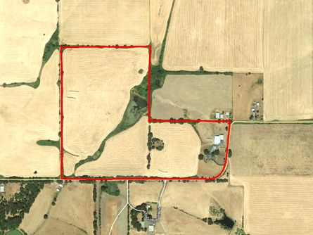 Approximate Boundaries of 86 Acres in Amity, OR