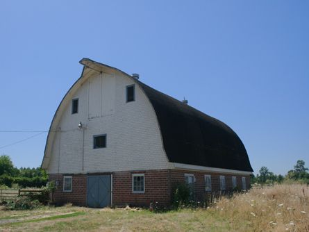 Classic Gothic Arch style Barn