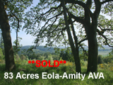 80 Acres Eola-Amity Hills Oregon Land for sale