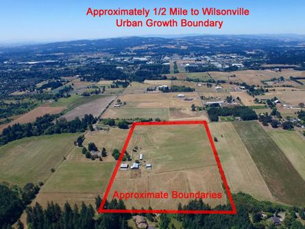 Close to Wilsonville Urban Growth Boundary