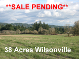 38 Acres Wilsonville Oregon Land for sale